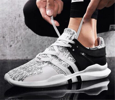 Nouveau Homme Chaussure Casual Respirant Sports Basket Sneakers Running Lacet