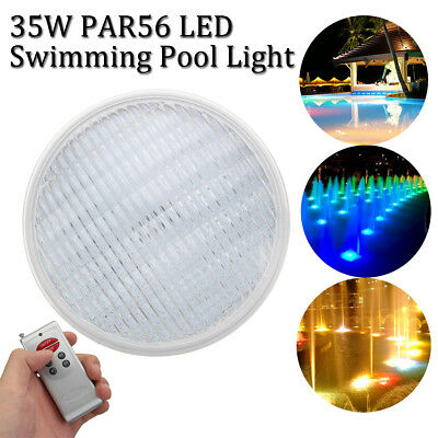 35W 12V LED Swimming Pool Light PAR56 Wall Mounted RGB Colorful Underwater Light