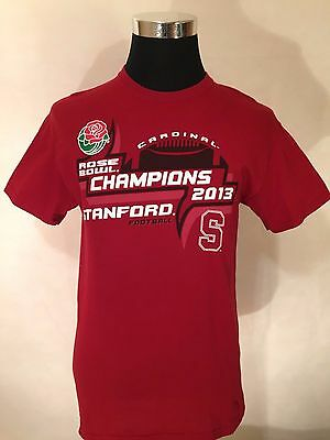 NCAA Stanford Cardinal MED 2013 Rose Bowl Champs Cotton Tee by Blue 84