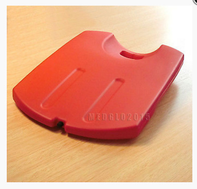 Medical Plastic Red CPR Back Board First Aid Cup-shaped Non-polluting CPR Board
