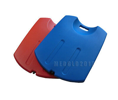 Cpr Back Board First Aid Medical Plastic Blue Color Cup-Shaped Cpr Board