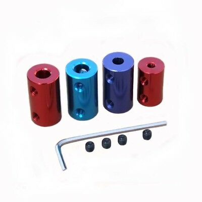 Color Flexible Shaft Coupling Rigid Coupler Motor Connector Aluminum Alloy