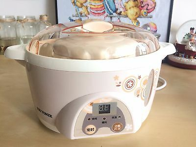 Mini electronic slow cooker stew cooker