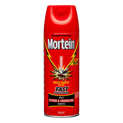 NEW Mortein Multi Insect Kill Spray Multi Insect Kill w/Single Spray 200g