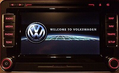VW Touareg Golf Passat RNS 510 Navigation Display Reparatur