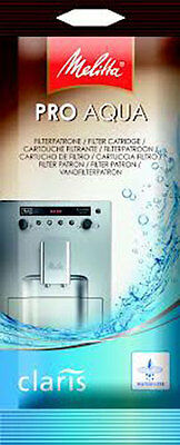 Caffeo Water Filter Cartridge Pro Aqua Claris Melitta Coffee Machine  6546281