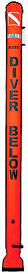 Mares Diver's Alert Marker Buoy Scuba Dive Freediving Spearfishing Orange 415743