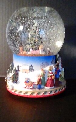 "PartyLite ""Christmas Morning"" Holiday Tealight Globe"
