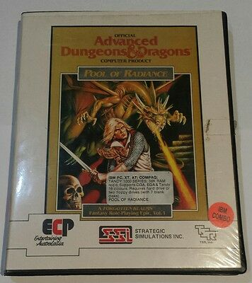 Advanced Dungeons & Dragons - Pool of Radiance - PC - ECP SSL