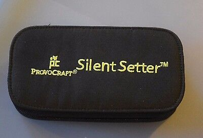 Provo Craft Set w/Case SILENT SETTER Plus Eyelets for Scrapbooking
