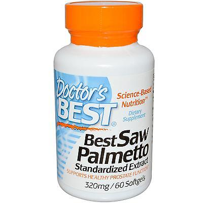 Saw Palmetto Standardized Extract (320mg) - 60 Softgels - Dr's Best