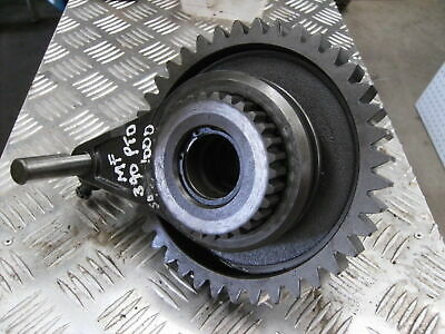 Massey Ferguson 390 2 speed  PTO selector fork and gear assembly.