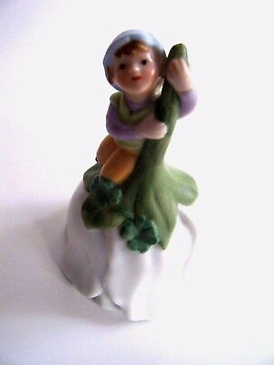 Avon Flower Bell Fairy Tale Jack And The Beanstalk 1983