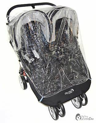 Raincover Compatible With Obaby Leto Plus Twin Double Pushchair (213)
