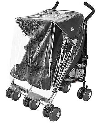 Raincover Compatible with Joie Aire Twin Double Pushchair (213)