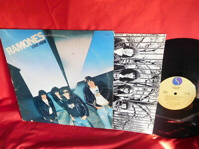 RAMONES Leave home LP 1977 USA First Pressing MINT- Inner