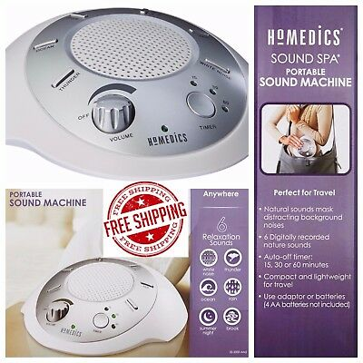 Nature Relaxing Sound White Noise Machine Spa Peace Therapy Relax Night Sleep
