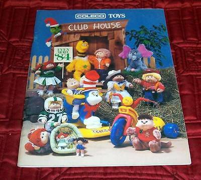 Coleco '84 Toy Catalog Big Cabbage Patch Line Seuss Power Cycles Colorforms 80pg