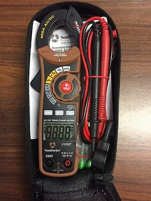 Southwire 21050T 400A AC DC True RMS Clamp Meter Multimeter New