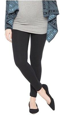Motherhood Maternity Secret Fit Belly Maternity Legging Solid Black New Size M