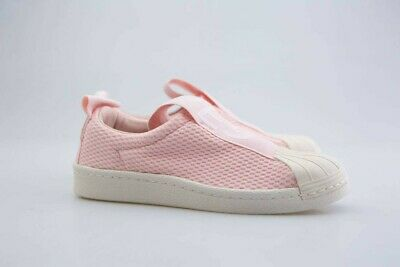 the best attitude 36d24 ccc33 BY9138 Adidas Women Superstar BW35 Slip-On W pink icey pink off white