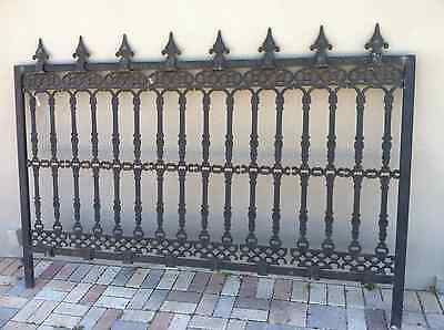 Victorian style Cast Iron Fence Panel