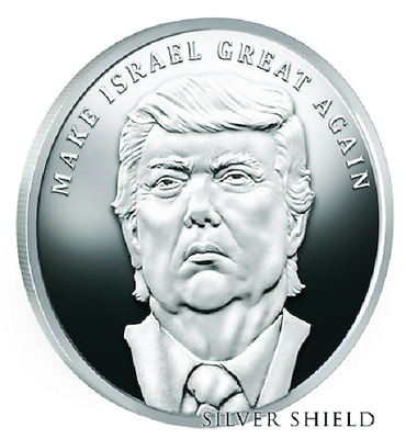 2017 Trump - Make Israel Great Again - Prophecy Series *Pre-Sale* 400 Mintage