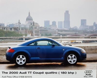 Audi TT Coupe  Quattro (180bhp) Colour Press Photograph - May 2000