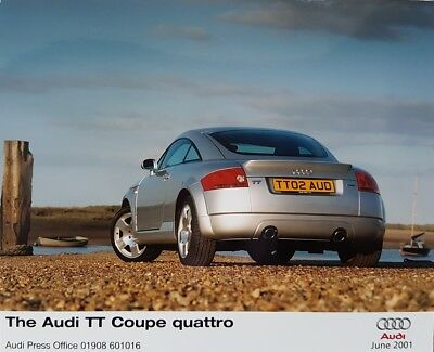 Audi TT Coupe  Quattro  Colour Press Photograph - June 2001