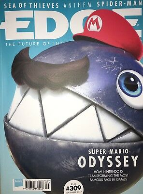 EDGE Magazine September 2017 Super Mario Odyssey Star Wars Battlefront II NEW 3