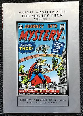 Marvel Masterworks Thor Volume 1 Hardcover Mint