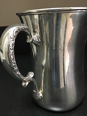 Whiting Louis XV Sterling Water Pitcher Rare Find