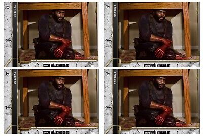 4x COME WHAT MAY CONCRETE TYREESE The Walking Dead Card Trader Digital