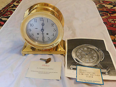 Vintage Chelsea Constitution 1787-1987 Bicentennial Clock  Limited Edition #138