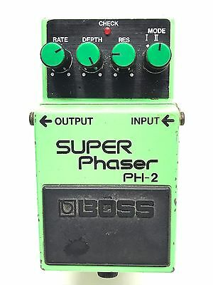 Boss PH-2, Super Phaser, Made In Japan, 1986, Guitar Effect Pedal