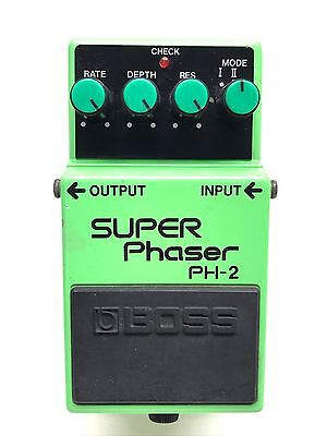 Boss PH-2, Super Phaser, Made In Japan, 1989, Guitar Effect Pedal