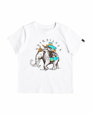 NEW QUIKSILVER™  Boys 2-7 Summer Car T Shirt Boys Children Tops