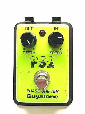 Guyatone PS-2, Phase Shifter, Made In Japan, 1980's, Guitar Effect Pedal