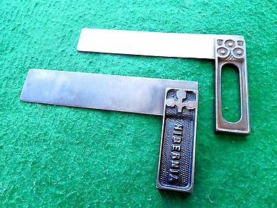 """Vintage Marples try tri square 6"""" plus another interesting square FR/iw"""