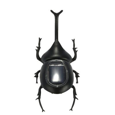 Magic Black ABS Beetle Insect Solar Powered Toy Kid Educational Toy Kid Gifts