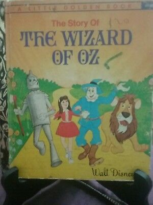 THE STORY OF THE WIZARD OF OZ Little Golden Book 1973 (G/C)