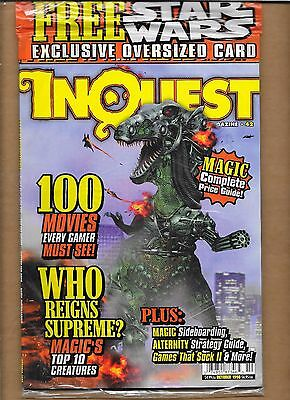 Inquest #42 Sealed Princess Leia Organa Slave Girl Over-Sized Ccg