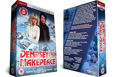 DEMPSEY AND MAKEPEACE the complete series 1 2 & 3 box set. New sealed DVD.
