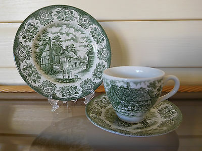 Old Inns Series Trio By English Ironstone Tableware Ltd Made In England