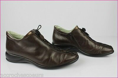 Comfort Shoes Impertinente by Sledgers Brown Leather T 39 Very Good Condition