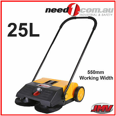 Jmv Floor Sweeper Heavy Duty 25L Capacity Wet And Dry Home Office Warehouse