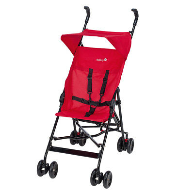 Safety 1st Buggy Peps Reisebuggy (4,8 kg leicht) inkl. Sonnendach - Plain Red