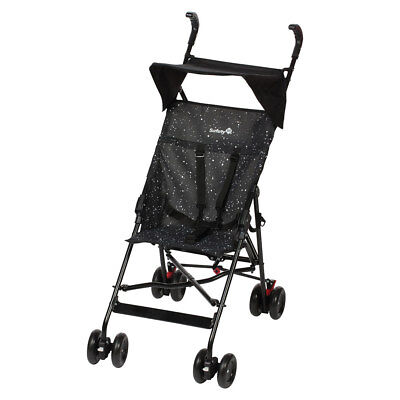 Safety 1st Buggy Reisebuggy Peps (4,8 kg) inkl. Sonnendach - Splatter Black