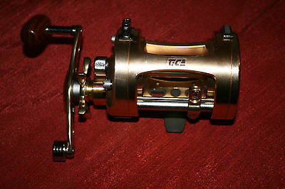 Tica heavy duty overhead casting and boat reel