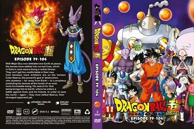 Dragon Ball Super (Episode 79 - 104) ~ 2-DVD SET ~ English Dub Version Anime